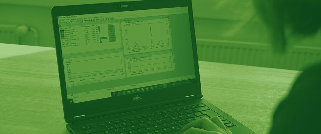 氣體分析儀軟件