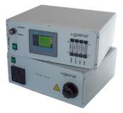 Die beiden Einschübe des Prpbehnmahemsysteme für Beprobung feuchter Gase, SYCOS P-Hot